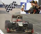 Romain Grosjean - Lotus - Gran Premio de Bahréin (2012) (3er Clasificado)