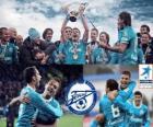 FC Zenit San Petersburgo, campeón de la liga rusa de fútbol, Liga Premier 2011-2012