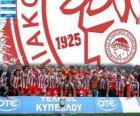 Olympiacos del Pireo, campeón Super League 2011-2012, liga griega de fútbol
