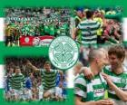 Celtic FC, campeón de la Premier League de Escocia 2011-2012