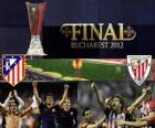 Atlético Madrid vs Athletic Bilbao. Final de Europa League 2011-2012 en el Estadio Nacional de Bucarest, Rumania