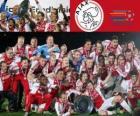Ajax Ámsterdam, campeón Eredivisie 2011-2012, liga holandesa de fútbol