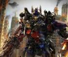 Gran robot Transformer de Disney