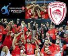 Olympiacos Pireo, campeón Euroliga Baloncesto 2012