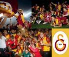 Galatasaray, campeón Super Lig 2011-2012, liga de fútbol de Turquía