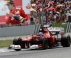 Fernando Alonso - Ferrari - Gran Premio de España (2012) (2º Clasificado)