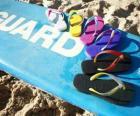 Chancletas o sandalias hawaianas para disfrutar del verano