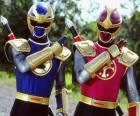 Thunder Ranger es un duo Crimson i Navy