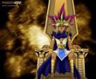 El Faraón Athem o Atem, conocido como Yami, es el espíritu de un antiguo faraón y alter-ego de Yugi