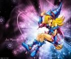 La chica de la magia oscura es otra forma que Pegasus utliza contra Kaiba