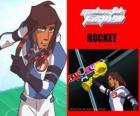 Rocket es el capitán del equipo de fútbol galáctico Snow-Kids con el número 5