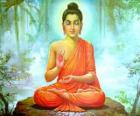 Dibujo de Buda Gautama