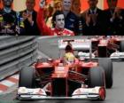 Fernando Alonso - Ferrari - GP de Mónaco 2012 (3er Clasificado)