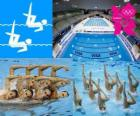 Natación sincronizada - Londres 2012 -