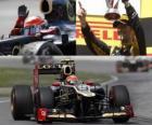 Romain Grosjean - Lotus - Gran Premio de Canadá (2012) (2º Clasificado)