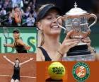 Maria Sharapova Campeona Roland Garros 2012