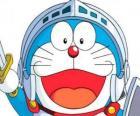 Doraemon en una de sus aventuras