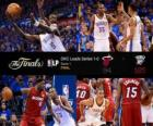 Finales NBA 2012, 1er Partido, Miami Heat 94 - Oklahoma City Thunder 105