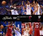 Finales NBA 2012, 1er Partido, Miami Heat 94 - Oklahoma City Thunder 105