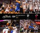Finales NBA 2012, 3er Partido, Oklahoma City Thunder 85 - Miami Heat 91