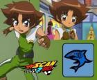 Mitsuki Kaibara de Scan2Go, el poder del tiburón le da una gran frialdad y también crueldad durante la competición