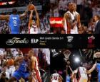 Finales NBA 2012, 4º Partido, Oklahoma City Thunder 98 - Miami Heat 104