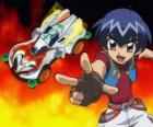 Kazuya lanzando el coche en una carrera