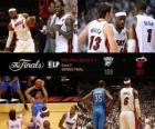 Finales NBA 2012, 5º Partido, Oklahoma City Thunder 106 - Miami Heat 121