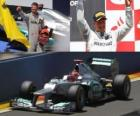 Michael Schumacher - Mercedes - GP de Europa 2012 (3er Clasificado)