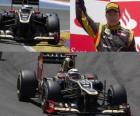 Kimi Raikkonen - Lotus - Gran Premio de Europa (2012) (2º Clasificado)