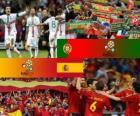 Portugal - España, semifinales Euro 2012
