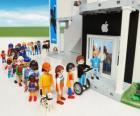 Tienda Apple Playmobil