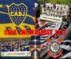 Boca Juniors vs Corinthians. Final Copa Libertadores 2012