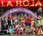 España, campeona Eurocopa UEFA 2012