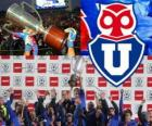 Club Universidad de Chile, campeón chileno Apertura 2012