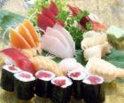 Gastronomia japonesa Sushi