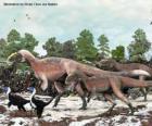 Yutyrannus con cerca de 9 metros de longitud es el mayor dinosaurio con plumas conocido