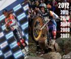 Toni Bou campeón del mundo de trial 2012