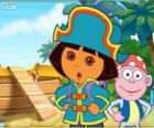 Dora la exploradora, la capitana pirata