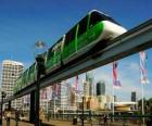 Tren monorail