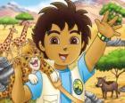 Diego y Bebé Jaguar ayudan a los animales en peligro en la série Go, Diego, Go!