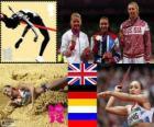 Heptatlón femenino Londres 2012