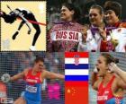 Atletismo disco fem LDN 12