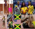 Atletismo 100 m fem LDN 12