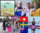 Triatlón femenino  Londres 2012