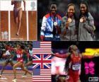 400 m femeninos Londres 12