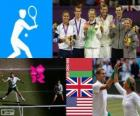Tenis dobles mixto LDN 2012
