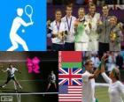 Tenis dobles mixto LDN 2012