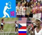 Tenis dobles femenino LDN12