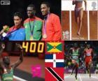Atletismo 400 m masc LDN 12